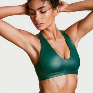 Victoria Secret | Jade Green Shine Sports Bra